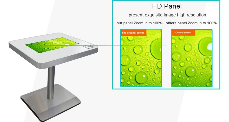 HD panel interactive coffees table