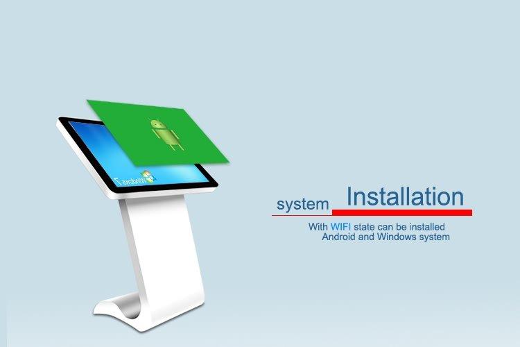 floor standing monitor kiosk-6