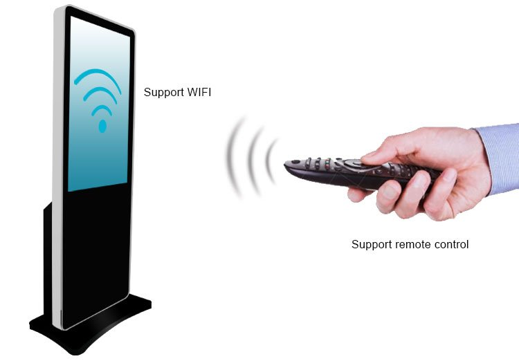 digital signage media player supports 3g/4g wifi network