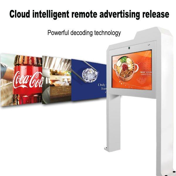 55 inch outdoor digital signage kiosk