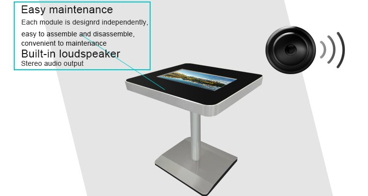 touch screen coffee table price