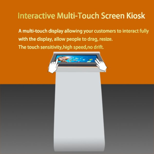 touch screen kiosk stand alone