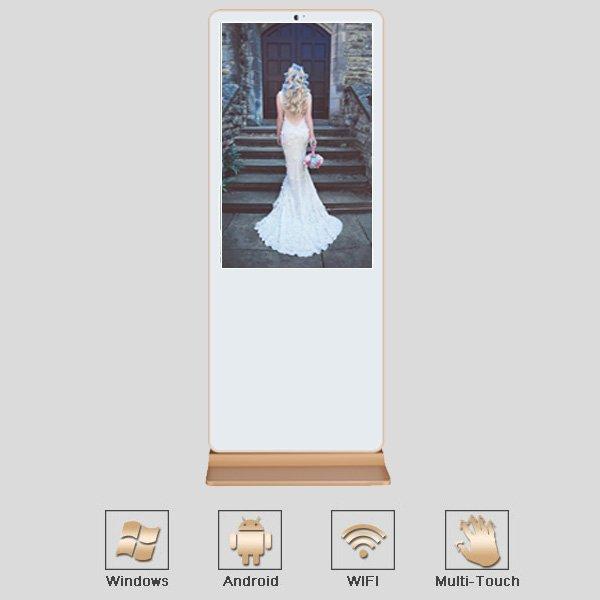 ultra thin interactive digital-signage kiosks wifi manufacturer