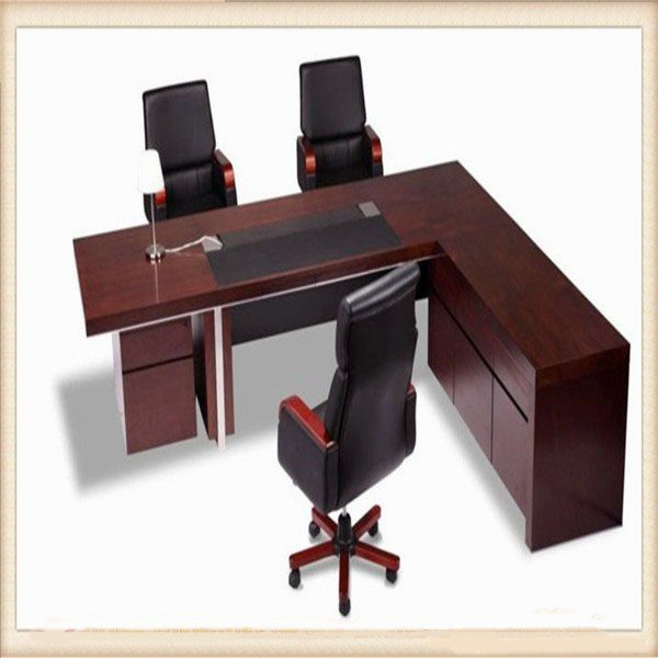 Mahogany Iso9001 Certificate Manager Office Furniture Table Hx