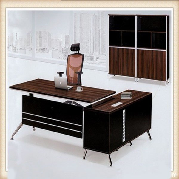Melamine Wooden Office Furniture Modern Office Table Desk Ul Nd038