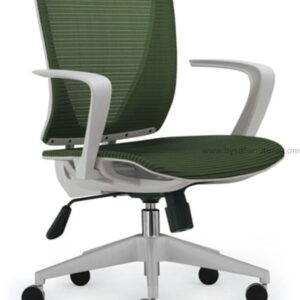 mesh chair with armrest;revolving office chair
