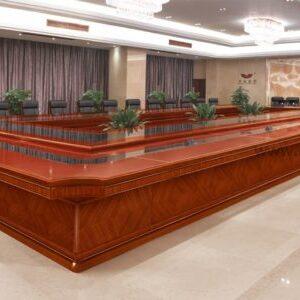 modern wooden conferece table