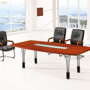 Conference table with Glass on the Top