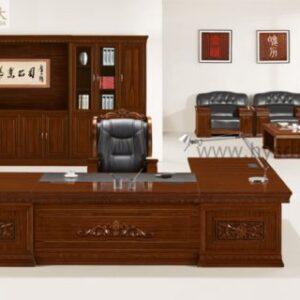 modern wooden Presidential Desk