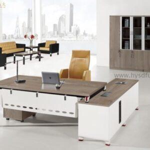 modern wooden executive desk