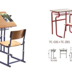 High quality Student chair and desk