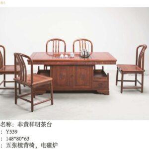traditional tea table