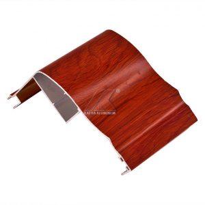 Angle Shape Furniture Wardrobe Aluminium Profile 5.98m Length ROHS