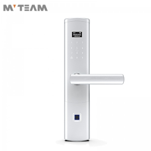 Thumbprint Lock Electronic Smart Keyless Door Lock with Discreet Peek-Proof Touchscreen Keypad, Auto Lock, Battery Backup